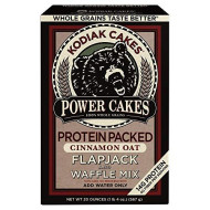 Power Cakes Cinnamon Oat Flapjack & Waffle Mix (Pack of 6)