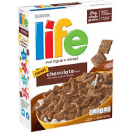 Life Cereal Breakfast Cereal, 13Oz Boxes (12 Pack)