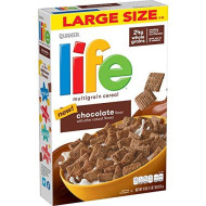 Life Cereal Breakfast, 18Oz Boxes (12 Pack)
