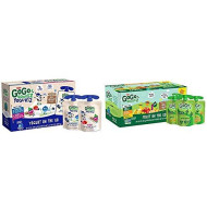 GoGo squeeZ yogurtZ, Variety Pack (Blueberry/Berry), 3 Ounce (60 Pouches) & Applesauce, Variety Pack (Apple/Banana/Mango), 3.2 Ounce (20 Pouches), Gluten Free, Vegan Friendly, Unsweetened Applesauce