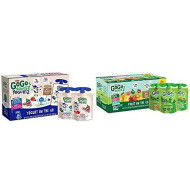 GoGo squeeZ yogurtZ, Variety Pack (Blueberry/Berry), 3 Ounce (60 Pouches) & Applesauce, Variety Pack (Apple/Peach/GIMME 5), 3.2 Ounce (20 Pouches), Gluten Free, Vegan Friendly, Unsweetened