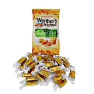 Werther's Soft Candy Caramel, Chewy Fall Edition Caramel Apple Flavor, 8.57 Ounce Bag