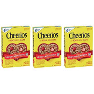 Cheerios, Cereal With Whole Grain Oats, Gluten Free, 8.9 Oz (Three Pack)