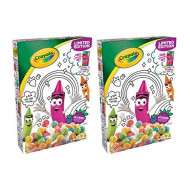 Breakfast Cereal, K Crayola Jazzberry Flavor, Limited Edition Fun And Colorful Cereal With Box That Your Kids Can Color And A Snack That They Will Surely Love, Pantry Staples For 2 Packs Of 7.2 Oz