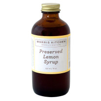 Morris Kitchen -Preserved Lemon Syrup - 8Oz