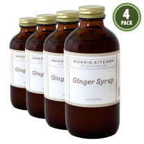 Morris Kitchen -Ginger Syrup 8Oz - (4Pk)