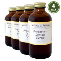 Morris Kitchen -Preserved Lemon Syrup 8Oz - (4Pk)