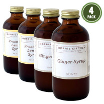 Morris Kitchen - Cocktail Syrups Sampler (4-Pack)
