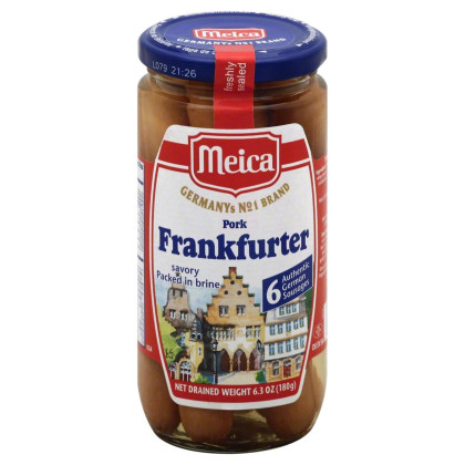 Meica, Frankfurter, 6.3 Oz, (Pack Of 12)